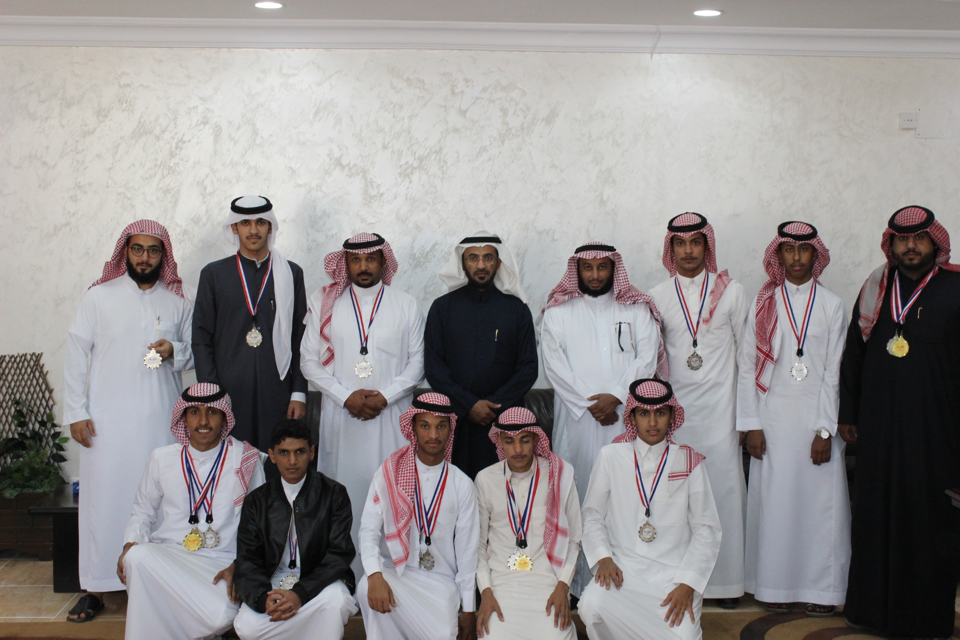 The Community College of al-Kharj wins 3rd place in the University Athletics Championship.
